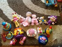 Girls toy bundle with unisex toys