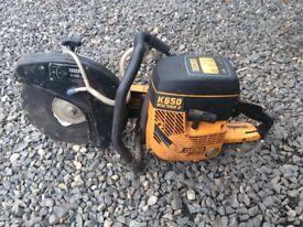 Partner k650 stone saw like Stihl ts 400 cutting saw petrol diy builder husqvarna