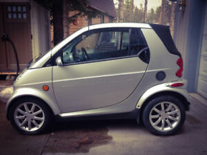 2005 Smart Car for 2   Located in Canmore