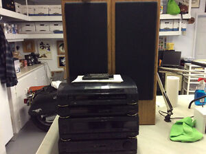 COMPLETE FISHER STEREO SYSTEM -excellent condition