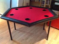 Table de poker - 6 joueurs