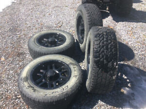 Tacoma wheels with tires