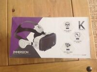 Virtual reality goggles new