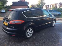 FORD S MAX TITANIUM TURBO DIESEL 7 SEATER 60 PLATE
