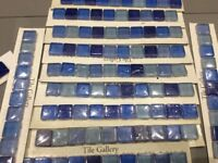 Tile Gallery Blue Mosaic Square Wall Tile