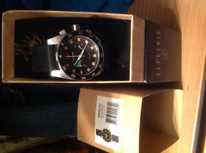 Electric Brand watch and Timex Flyback Chrono