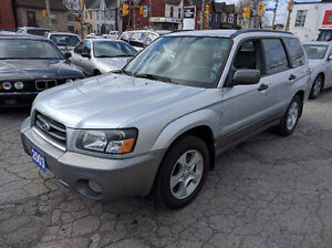 2003 Subaru Forester 2.5 XS Certification and E-test Included
