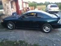1995 ford mustang project