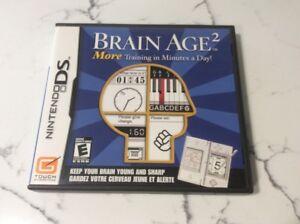 Jeux Nintendo DS Brain Age 2