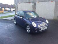 2005 mini one long mot low insurance