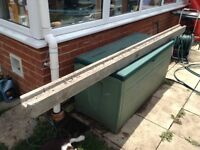 Concrete fence post slotted 8ft long