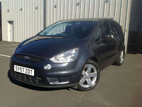Ford S-MAX 2.0TDCi ( 130ps ) AUTOMATIC 57 REG Titanium 7 SEATER , LOTS OF S/H