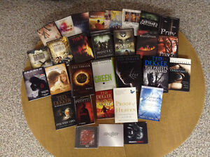Christian variety pack/books/movies/CDs