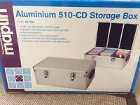 Aluminium 510-cd storage box