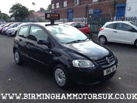 2009 (09 Reg) Volkswagen Fox 1.2 URBAN FOX 3DR Hatchback BLACK + LOW MILES