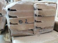 Pre-primed HDF skirting board & architrave 4.2m lengths, bargain!