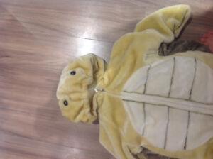 Costume de tortue en peluche 6-8 ans