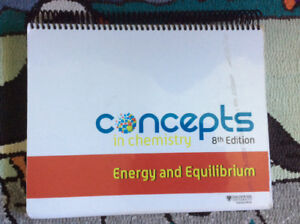 concepts  in Chemistry's energy and equilibrium 8th Edition