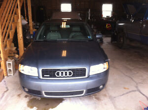 Late 2004 - Early 2005 Audi A4 Quattro B6 1.8T