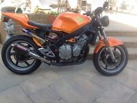 Honda cbr 600 f2 street fighter project spares or repair