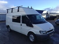 2006 ford transit 2.4 tdci 135 bhp 6 speed 6 seater crew van low miles