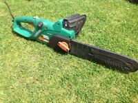 Black and Decker 35cm electric chainsaw