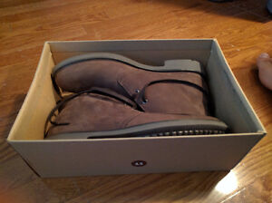 NEW IN BOX - Clark's Brown Suede Leather Boots (Paid $120) London Ontario image 7