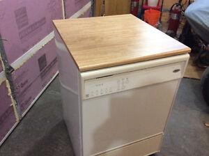 Brand-new Whirlpool dishwasher