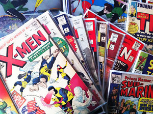 Buying All Comic Books & Toys from 1930s-1990s - CASH