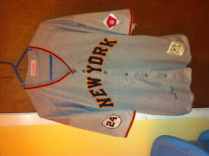 Willie mays 1951 new york giants mlb jersey 2xl