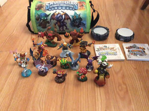 Skylander 3ds games and everything else needed included