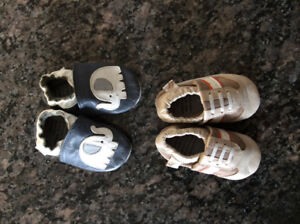 6-12 month genuine leather crib shoes