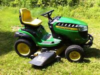 John deere D160 Lawn Tractor.