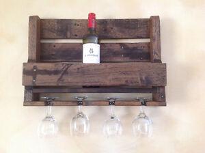Rustic Pallett Wine Rack London Ontario image 6