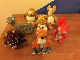 Gruffalo soft toys