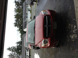 2010 Dodge Caliber Red Hatchback