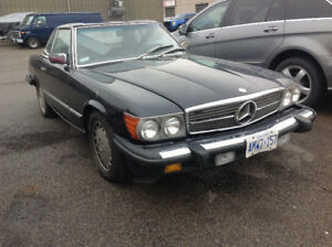 1988 Mercedes Benz sl560 priced to sell