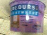 More than half pot paint