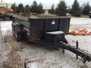 2013 Weberlane 6ton dump trailer