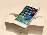 Same as new iPhone 5, 16 GB, Boxed, on O2