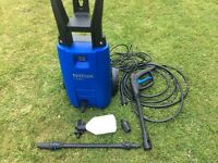 Nilfisk 110.4 pressure washer less than 12 months old