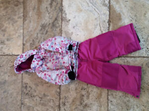 Girl size 2 Gusti Snow Suit