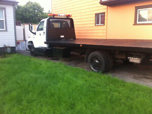 2004 C5500 Flatbed tow truck 21feet with wheel lift