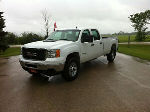 2013 GMC SIERRA 3500 HD CREW CAB LONG BOX 4x4