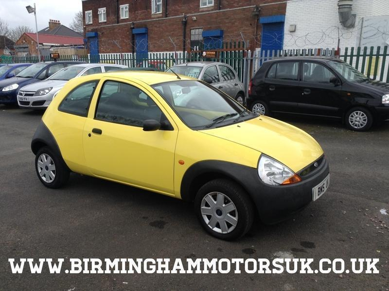 Reg Ford Ka  Dr Hatchback Yellow Low Miles