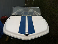 USED 1980'S SUNRAY SPEED BOAT