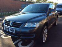 2005 Volkswagen **REDUCED**VW Touareg SE TDI 2.5 Diesel Automatic Grey 4x4