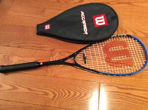 Wilson Agressor Graphite Titanium Squash Racquet- Excellent cond