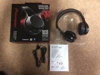Pioneer SE-MJ771BT-K Bluetooth Wireless Headphones with NFC and AptX - Black