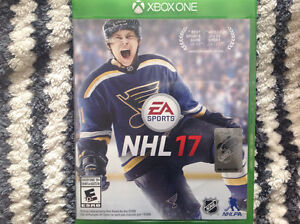 NHL 17 for the X box one